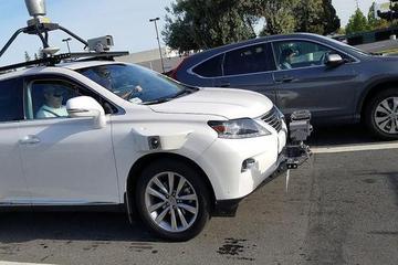 苹果自动驾驶测试车现身 传感器非订制