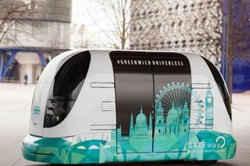 伦敦准备测试无人驾驶胶囊用作公共交通工具