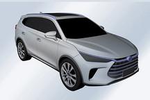 比亚迪全新SUV车型专利图曝光 或为新一代唐王朝SUV
