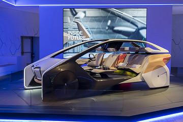 宝马未来概念座舱即将在2017亚洲消费电子展中国首秀