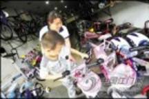 江门绿道网逐步建成 自行车销量也随之上升