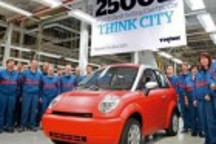 第2500辆THINK City纯电动车芬兰下线