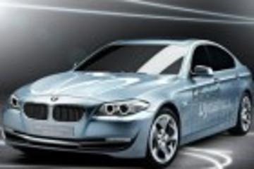 宝马5系新电动概念车将亮相上海车展