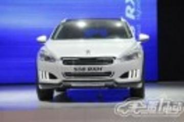 跨界环保车标致508 RXH法兰克福车展首发