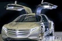 奔驰F125氢动力欧翼概念车亮相法兰克福
