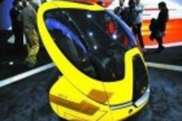 雪佛兰双人城市电动概念车亮相北美车展
