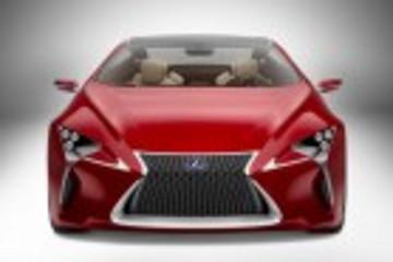 雷克萨斯混动概念款LF-LC 亮相底特律车展