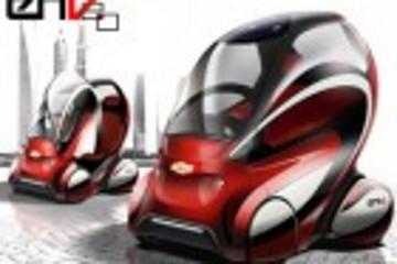 雪佛兰EN-V2.0电动联网概念车谍照北京曝光