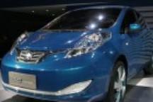 启辰首款EV概念车e-Concept首发北京车展
