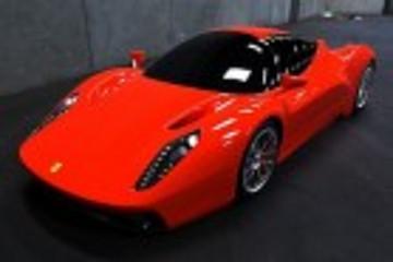 混动超跑法拉利F70曝光 2013年正式亮相