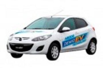 """马自达电动车""""Demio EV""""10月开始租赁销售"""