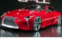 雷克萨斯LF-LC混动概念跑车将于2015年量产