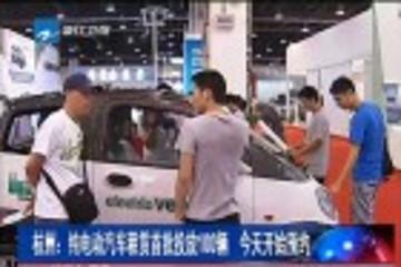 杭州首批100辆电动汽车开租 暂推半年长租