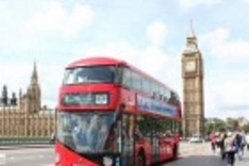 借力奥运 伦敦运输部门推介新型混合动力公交车