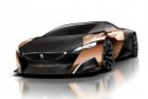 混合动力超跑 标致Onyx概念车官图曝光