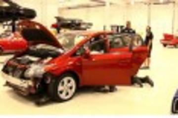 热力改装二手普锐斯 丰田赛车梦想改装挑战赛