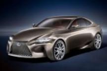 雷克萨斯发布LF-CC概念车 搭载混合动力系统