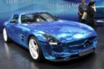 2012巴黎车展:奔驰SLS AMG纯电动版发布