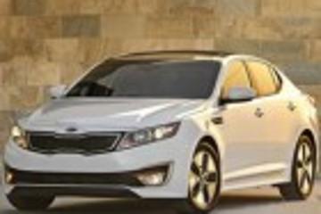 起亚将在2013年向中国进口K5混动版车型