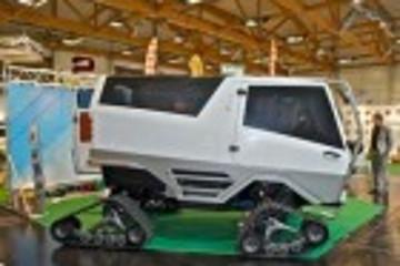 轮毂电机特种运用 Mattro公司推新型电动越野车