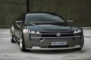 大众首款纯电动车设计图曝光 外观动感