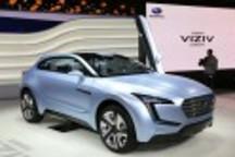 斯巴鲁混动版概念车Viziv亮相日内瓦车展