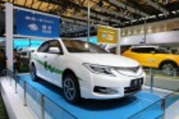 采用纯电动力 一汽丰田朗世亮相上海车展