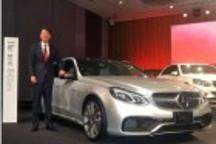 奔驰在日发售E级新车 首次新增混动版