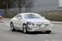 2015奔驰S Coupe谍照 V12引擎/增混动版