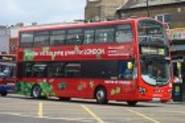 伦敦投入500万英镑扩增绿色公交车队