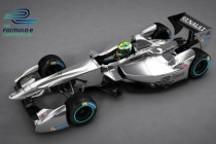 Formula E赛事临近 电动F1率先登陆法兰克福车展