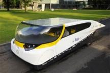 仅重380Kg 世界首辆太阳能家用车面世