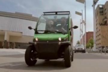电动汽车当手机用: 卸下电池回家充电