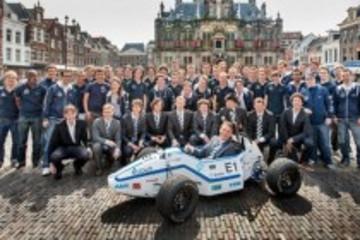 2.15秒破百 荷兰学生造出全球最快电动汽车
