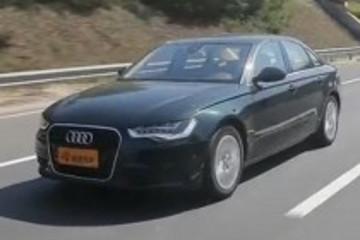 环保的态度试驾进口奥迪A6混动版