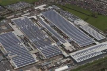 宾利克鲁工厂利用太阳能生产汽车