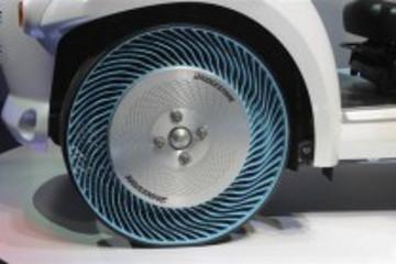 日本采用可回收材料推出免充气轮胎