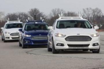 福特联手密西根大学研发混合动力自动驾驶车