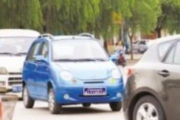 无牌无证上路将受罚 邢台整治电动汽车违法行为