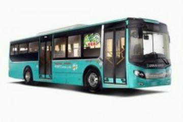 国务院副总理马凯调研乘坐五洲龙纯电动客车
