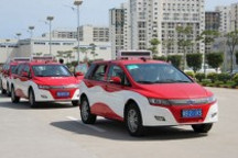 2014年南京或有7500辆电动汽车上路