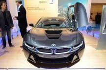宝马i8量产版车型北美车展再亮相