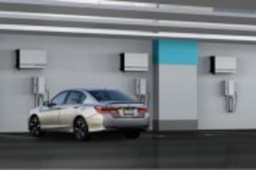 本田推出太阳能壁挂充电系统