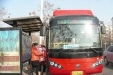邢台首批天然气空调公交车上线运营