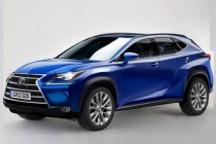 雷克萨斯LF-NX量产版曝光 混动版预计3月全球首发