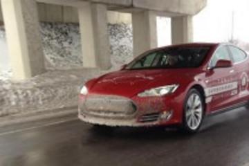 特斯拉Model S创下横跨北美大陆新纪录(图)