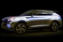 双龙柴油版混动概念车将于日内瓦车展亮相