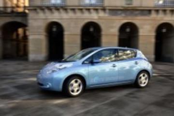 日产聆风称霸欧洲电动车市场 2013销量创新高