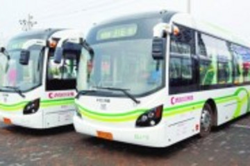 青岛2015年电动公交车将达2000辆