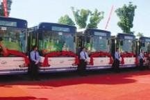 江苏苏州新型纯电动公交车上路